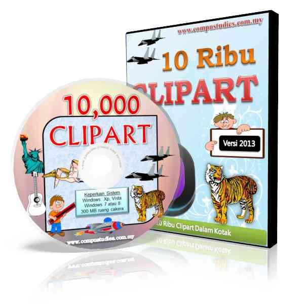 CD-ROM 10 Ribu ClipArt