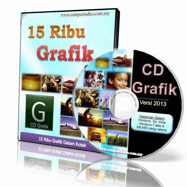 CD-ROM 15 Ribu Grafik