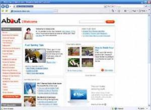 Skrin Internet Explorer - Klik Untuk Gambar Lebih Besar