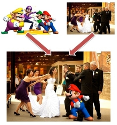kursus grafik combine wedding