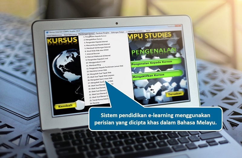 pendidikan e-learning compu studies